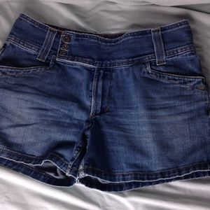 Tommy Hilfiger Women's Blue Jean Shorts.